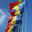 Flags of Romania - Stock Photo