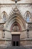 Entrance of Santa Maria del Mar — Stock Photo