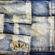 Jeans cloth - Foto de Stock