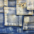 Jeans cloth - Stock fotografie