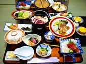 The Japanese food set — Stock Photo