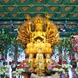 Guan Yin statue in temple , Thailand — Stock Photo