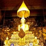 Statue of buddha at Wat Pho , Bangkok — Stock Photo #6814643