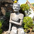 Ascetic statue at wat pho , Bangkok — Stock Photo