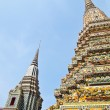 Pagoda at Wat Pho in Bangkok , Thailand — Stock Photo