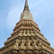 Angle of Pagoda at Wat Pho , Bangkok in Thailand — Stock Photo