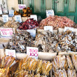 Dried Squid at Market in Bangkok Thailand (Horizontal) — Stock Photo #6814711