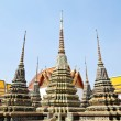 Pagoda at Wat Pho Temple , Bangkok Thialand — Stock Photo