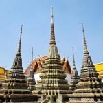 Pagoda at Wat Pho, Bangkok, Thailand — Stock Photo #6814854