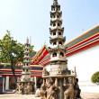 Chinese Pagoda at Wat Pho in Bangkok — Stock Photo