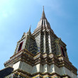 Angle of stupa at Wat Pho in Bangkok , Thailand — Stock Photo