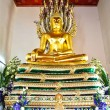 Buddha Statue at Wat Pho , Bangkok,Thailand — Stock Photo
