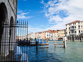 View of Grand Canal in Venice , Italy — Stock Photo