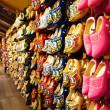 Stock Photo: Famous traditional Dutch wooden clogs