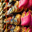 Traditional Holland wooden shoes — Stock Photo