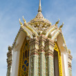 Pagoda at Wat Ratchabophit temple,Thailand — Stock Photo