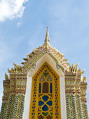 Pagoda at Ratchabophit temple , Thailand — Stock Photo
