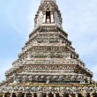 A Pagoda , Wat Arun (Temple of the Dawn) — Stock Photo