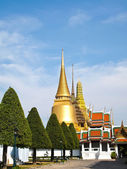 Grand Palace , tourism attraction in Bangkok, Thailand — Stock Photo