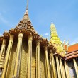 Wat Phra Kaew,Temple of the Emerald - Stock Photo