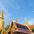 The Grand Palace Wat Phra Kaew , Bangkok - Stock Photo