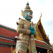 Stock Photo: GuardiStatue at Wat PhrKaew , Bangkok