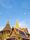 туризм ват пхра кео в бангкоке таиланд — Стоковое фото