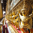 The Golden garuda statue Wat Phra Kaew , Bangkok — Stock Photo