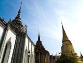 Wat phra kaew, tapınakta bangkok tayland — Stok fotoğraf