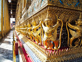 The Grand Palace. Temple of the Emerald Buddha — Stock Photo