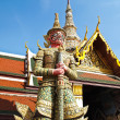 The Red Giant at The Grand Palace , Bangkok — 图库照片