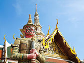 The Red Giant at The Grand Palace , Thailand — Stock Photo
