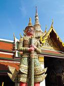 红巨星在宏伟的宫殿,曼谷 — 图库照片