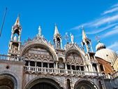 The courtyard of the Doge palace in Venice in Italy — Stock Photo