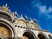 The Doge's Palace with blu sky in Venice , Italy — Photo