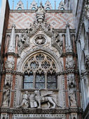 A detail of the Doge palace in Venice, Italy — Stock Photo