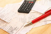 Calculating expenses — Stock Photo