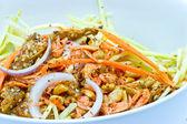 Spicy mango salad — Stock Photo