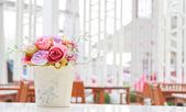 Flower in vase — Stock Photo