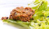 Palla di carne gamberi — Foto Stock