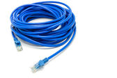 Blue internet wire — Stock Photo