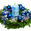 Christmas wreath — Stock Photo #7936912
