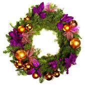 Vánoční věnec — Stock fotografie