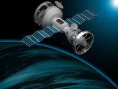 Artificial satellite — Stock Photo