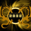 Background for new 2012 year — Stock Photo #6859790