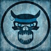 Evil Skull — Stock Photo