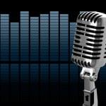 Vintage microphone — Stock Photo #7916248