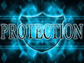 La protezione di iscrizione — Foto Stock