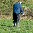 Metal Detecting — Stock Photo