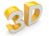 3D text. Entertainment cinema. Isolated. Illustration — Stok fotoğraf
